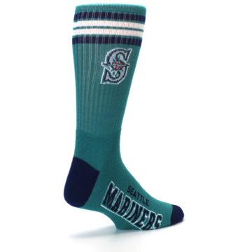 Image of Seattle Mariners Men's Athletic Crew Socks (side-1-back-22)