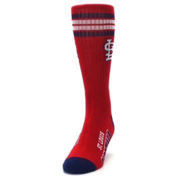 Image of St. Louis Cardinals Men's Athletic Crew Socks (side-2-front-06)