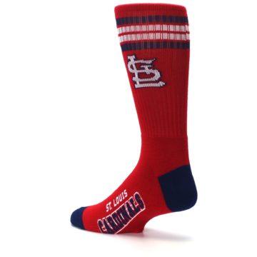 Image of St. Louis Cardinals Men's Athletic Crew Socks (side-2-back-14)