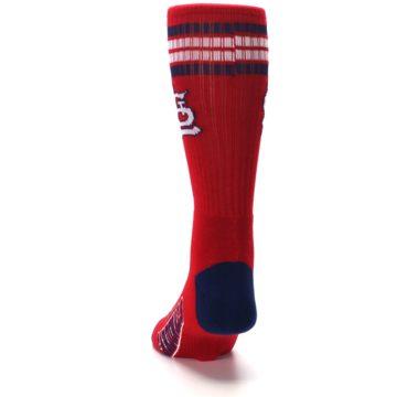 Image of St. Louis Cardinals Men's Athletic Crew Socks (back-17)