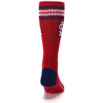 Image of St. Louis Cardinals Men's Athletic Crew Socks (back-19)