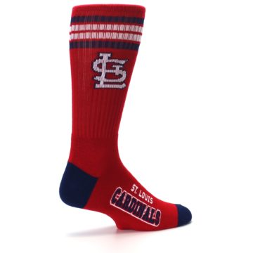 Image of St. Louis Cardinals Men's Athletic Crew Socks (side-1-23)