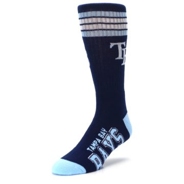 Image of Tampa Bay Rays Men's Athletic Crew Socks (side-2-front-08)