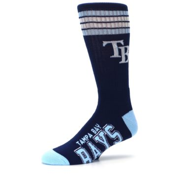 Image of Tampa Bay Rays Men's Athletic Crew Socks (side-2-10)