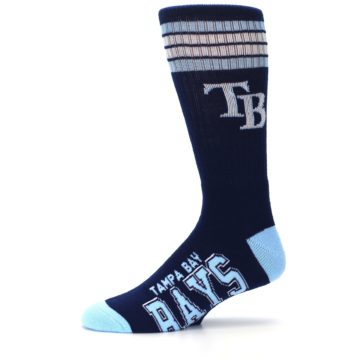 Image of Tampa Bay Rays Men's Athletic Crew Socks (side-2-11)