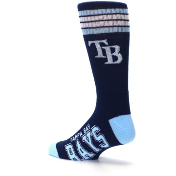 Image of Tampa Bay Rays Men's Athletic Crew Socks (side-2-back-14)