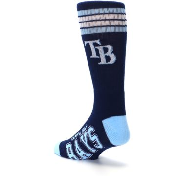 Image of Tampa Bay Rays Men's Athletic Crew Socks (side-2-back-15)