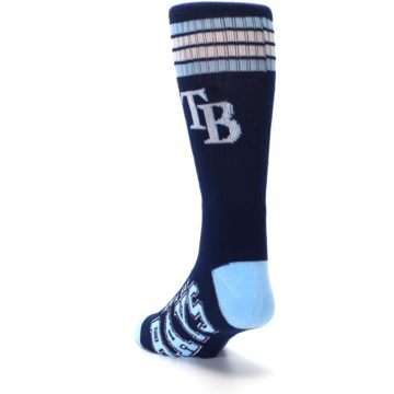 Image of Tampa Bay Rays Men's Athletic Crew Socks (side-2-back-16)