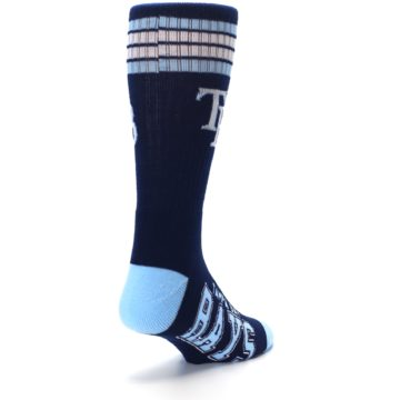 Image of Tampa Bay Rays Men's Athletic Crew Socks (side-1-back-21)