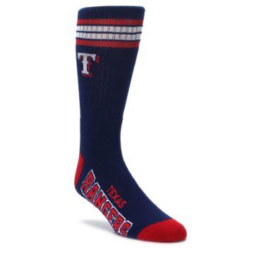 navy red mens athletic crew socks fbf