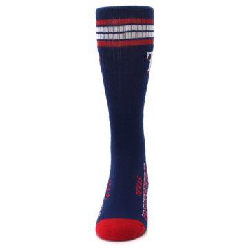 Image of Texas Rangers Men's Athletic Crew Socks (front-05)