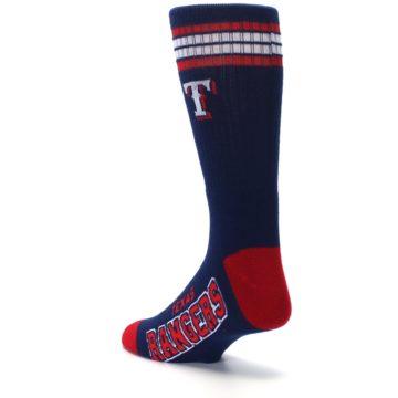 Image of Texas Rangers Men's Athletic Crew Socks (side-2-back-15)