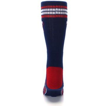 Image of Texas Rangers Men's Athletic Crew Socks (back-18)