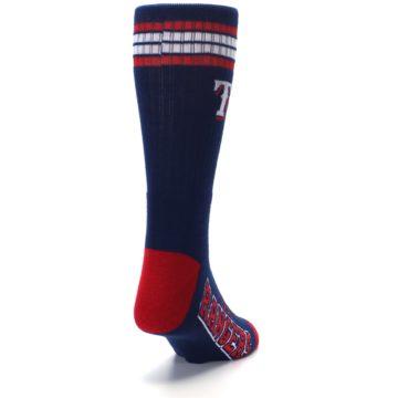 Image of Texas Rangers Men's Athletic Crew Socks (side-1-back-20)
