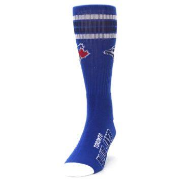 Image of Toronto Blue Jays Men's Athletic Crew Socks (side-2-front-06)