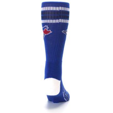 Image of Toronto Blue Jays Men's Athletic Crew Socks (back-19)