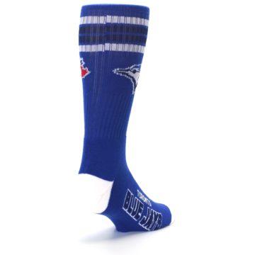 Image of Toronto Blue Jays Men's Athletic Crew Socks (side-1-back-21)
