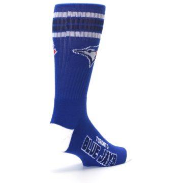 Image of Toronto Blue Jays Men's Athletic Crew Socks (side-1-back-22)
