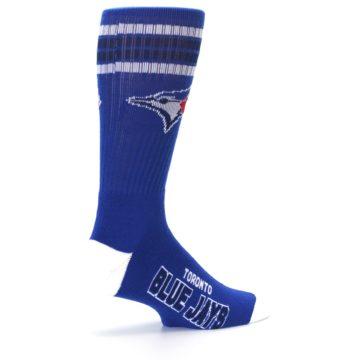 Image of Toronto Blue Jays Men's Athletic Crew Socks (side-1-23)