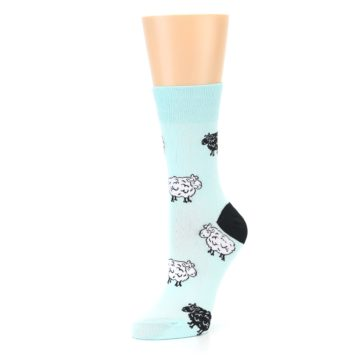 Image of Mint Black Sheep Women's Dress Sock (side-2-09)