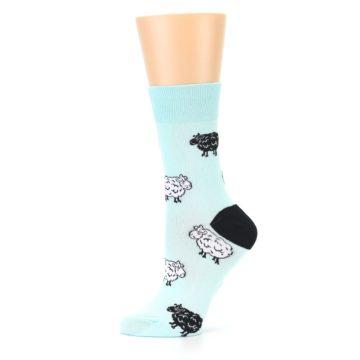 Image of Mint Black Sheep Women's Dress Sock (side-2-11)