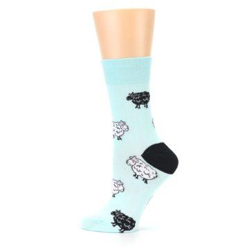 Image of Mint Black Sheep Women's Dress Sock (side-2-12)