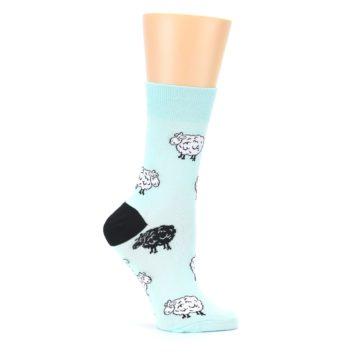 Image of Mint Black Sheep Women's Dress Sock (side-1-25)