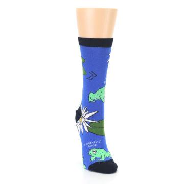 Image of Blue Green Toads Women's Dress Socks (side-1-front-03)
