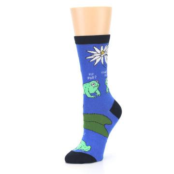 Image of Blue Green Toads Women's Dress Socks (side-2-09)