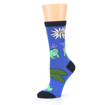 Image of Blue Green Toads Women's Dress Socks (side-2-10)