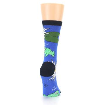 Image of Blue Green Toads Women's Dress Socks (side-1-back-20)