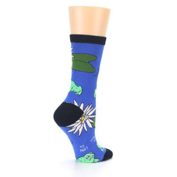 Image of Blue Green Toads Women's Dress Socks (side-1-23)