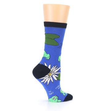 Image of Blue Green Toads Women's Dress Socks (side-1-24)