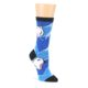 Image of Blue Black Polar Bear Women's Dress Socks (side-1-front-01)