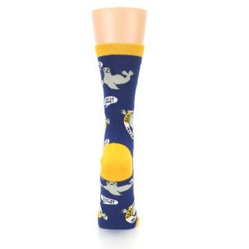 Image of Navy Seal of Approval Women's Dress Socks (back-19)