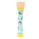 Image of Mint Bacon and Eggs Breakfast Women's Dress Socks (front-05)