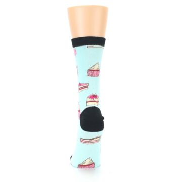 Image of Mint Black Cake Party Women's Dress Socks (back-18)