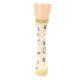 Image of Light Apricot Arrow Pattern Women's Dress Socks (front-05)