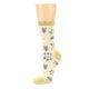 Image of Light Apricot Arrow Pattern Women's Dress Socks (side-2-09)