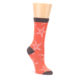 Image of Coral Sea Starfish Women's Bamboo Dress Socks (side-1-front-01)