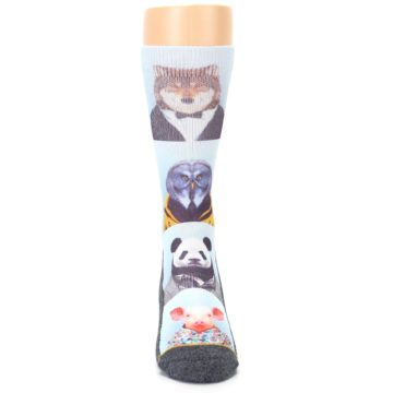 Image of Animals Dressed To Kill Men's Casual Socks (front-04)