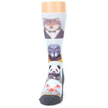 Image of Animals Dressed To Kill Men's Casual Socks (front-05)