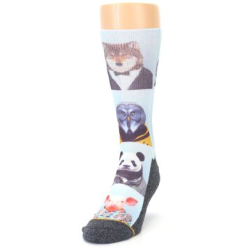 Image of Animals Dressed To Kill Men's Casual Socks (side-2-front-06)