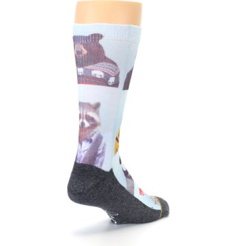 Image of Animals Dressed To Kill Men's Casual Socks (side-1-back-21)