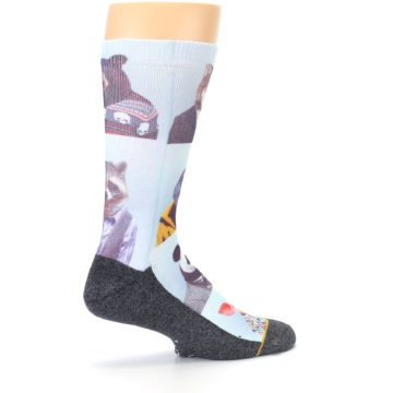 Image of Animals Dressed To Kill Men's Casual Socks (side-1-23)