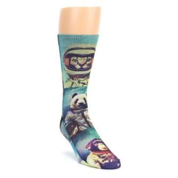 Animals Space Explorers Men's Casual Socks