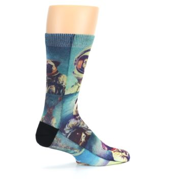 Image of Animals Space Explorers Men's Casual Socks (side-1-23)