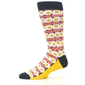 Image of Eggs and Bacon Men's Dress Socks (side-2-11)