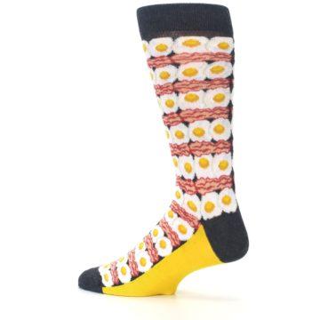 Image of Eggs and Bacon Men's Dress Socks (side-2-13)