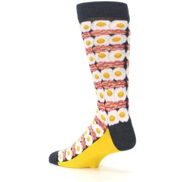 Image of Eggs and Bacon Men's Dress Socks (side-2-back-14)